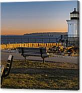 Early Morning At Bug Lighthouse Canvas Print