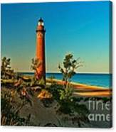 Early Morning At Little Sable Canvas Print
