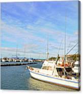 Early Morning At Maalaea Marina Canvas Print