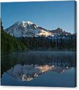 Early Morning At Mount Rainier Canvas Print