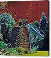 Early Morning At The Mill Canvas Print