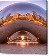 Early Morning Bean Canvas Print