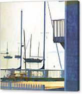 Early Morning Camden Harbor Maine Canvas Print