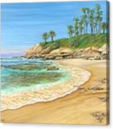 Early Morning Laguna Canvas Print