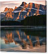 Early Morning Light At Two Jack Canvas Print