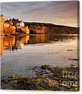 Early Morning Light On Robin Hoods Bay Canvas Print