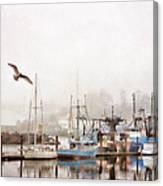 Early Morning Newport Oregon Canvas Print