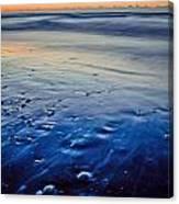 Early Morning On A Sea Coast Canvas Print