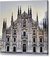 Early Morning On Il Duomo Canvas Print