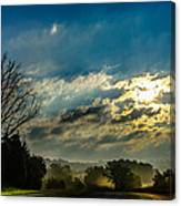 Early Morning On The Road Again Canvas Print