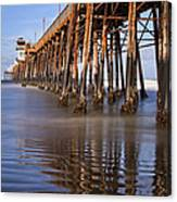 Early Morning Pier Canvas Print