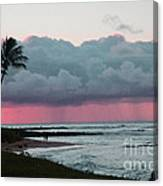Early Morning Rain Canvas Print