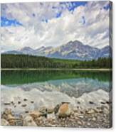 Early Morning Reflections Canvas Print