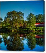 Early Morning Rest Stop Canvas Print