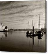 Early Morning River Suir, Waterford Canvas Print