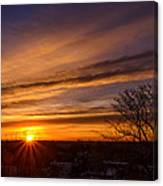 Early Morning Star Canvas Print