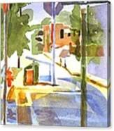 Early Morning Sunshine Canvas Print