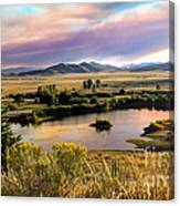 Early Morning View Canvas Print