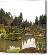 Early Spring In The Garden Canvas Print
