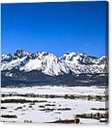 Early Spring In The Sawtooth Canvas Print
