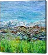 Early Spring Range Canvas Print