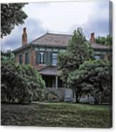 Early Victorian Italianate House Canvas Print
