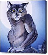 Ears Of The Werewolf Canvas Print