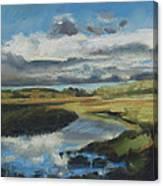 Earth Air Water Canvas Print