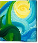 Earth And Sky Meet Canvas Print