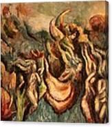 Earth Angels Canvas Print