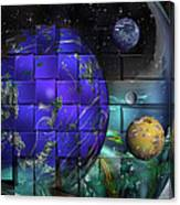 Earthday 2014- The View From On High Canvas Print