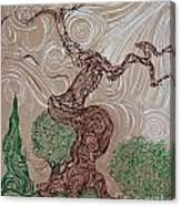 Earthen Tree Canvas Print