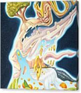 Earthly D' Light Canvas Print