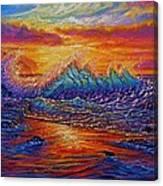 Earths Edge Canvas Print