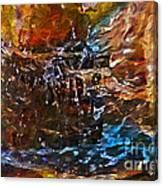 Earthy Abstract Canvas Print
