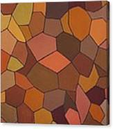 Earthy Angles Canvas Print