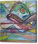 Easey Jet Canvas Print