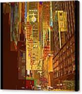 East 45th Street - New York City Canvas Print