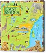 East Africa Canvas Print
