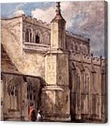 East Bergholt Church, Northside Canvas Print