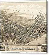 East Boston 1879 Canvas Print