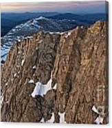 East From Mt. Evans Canvas Print