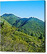 East Peak Of Mount Tamalpias-california Canvas Print