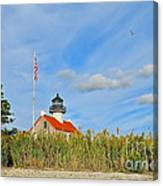 East Point In September Canvas Print