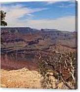 East Rim Grand Canyon Canvas Print