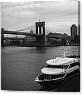 East River Afternoon Canvas Print