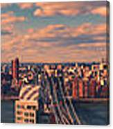 East River Bridges Canvas Print