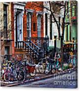 East Village Bicycles Canvas Print