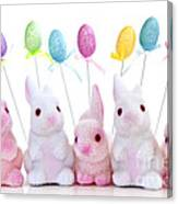 Easter Bunny Toys Canvas Print