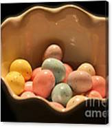 Easter Candy Malted Milk Balls I Canvas Print